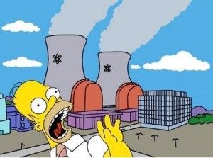 paura nucleare e censura dei simpsons