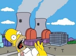 paura nucleare e censura dei simpsons