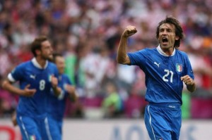 tv ascolti italia croazia europei di calcio
