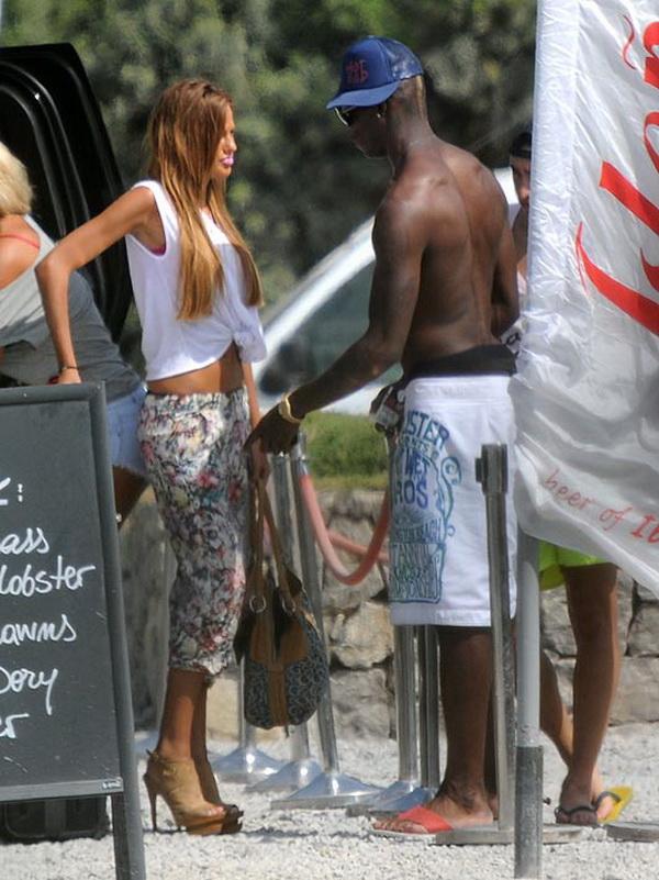 Balotelli nuova fiamma modella francese Lawrens
