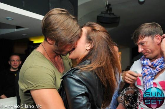 Francesco e Teresanna tutti i baci della coppia