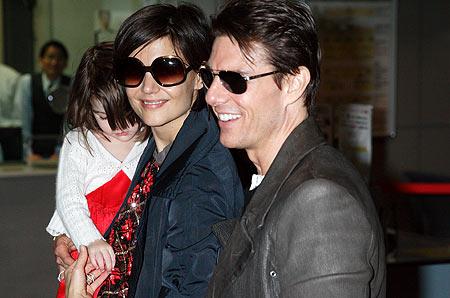 Katie Holmes e Tom Cruise crisi vecchia