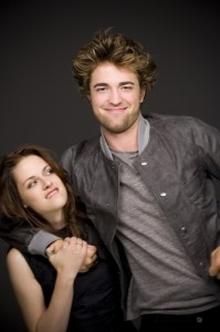 Kristen Stewart and Robert Pattinson, from the movie Twilight