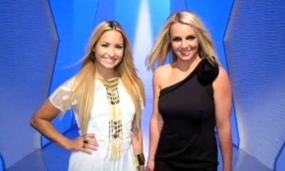 The X Factor USA Demi Lovato Britney Spears