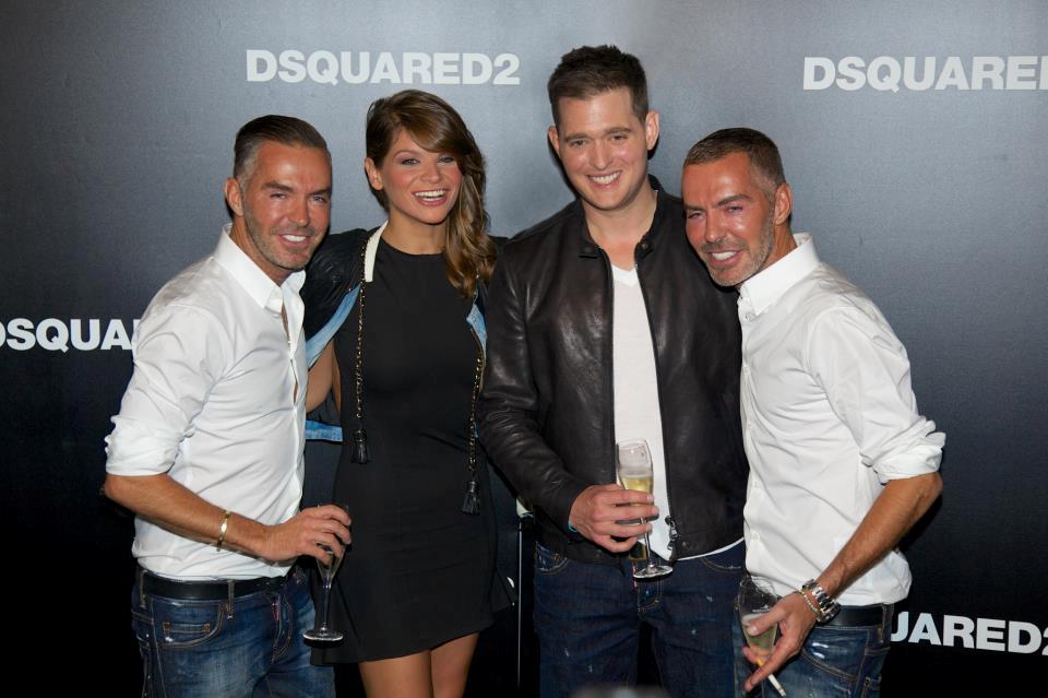 a3cfd033c65c Alessandra Amoroso al Dsquared2 (VIDEO) con Michael Buble e i ...