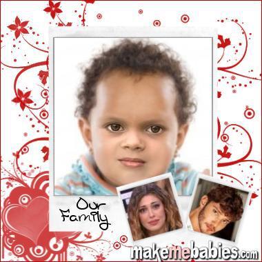 Belen e Stefano foto figlio