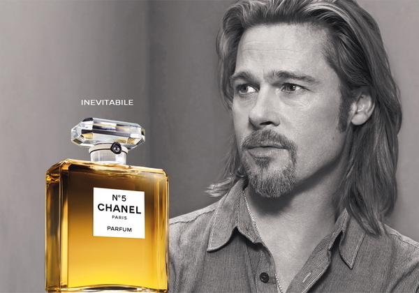 brad pitt chanel 150x150 ROBERT PATTINSON/ Segue Brad Pitt da Chanel a