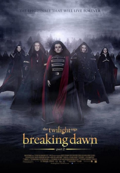 Volturi in Breking Dawn Parte Due foto poster