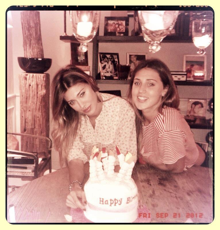 Cecilia e Belen Rodriguez foto