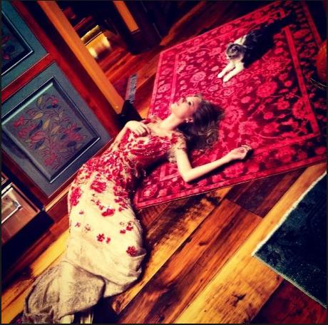 taylor Swift con Harry Styles foto