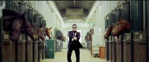 PSY balla Gangnam Style