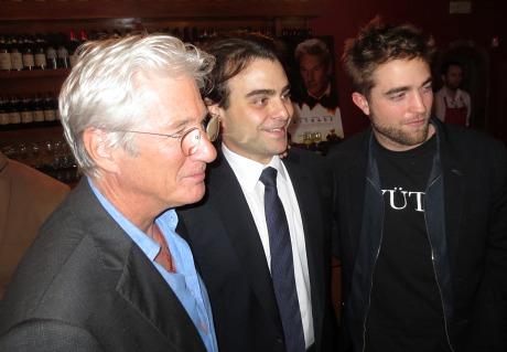 Robert Pattinson Richard Gere foto