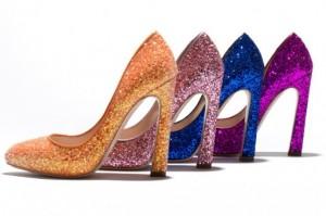 scarpe brillanti capodanno