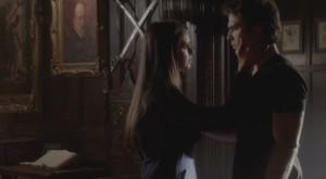 the vampire diaries 4x08 damon e elena amore vero