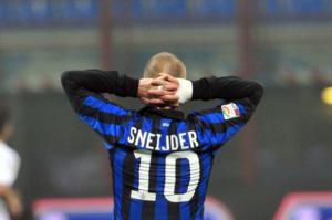 inter neftchi sneijder ancora fuori