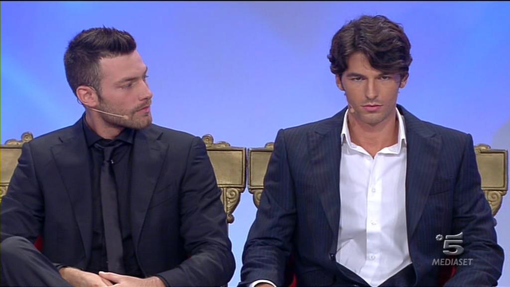 Uomini-e-Donne-Eugenio-Colombo-e-Andrea-Offredi