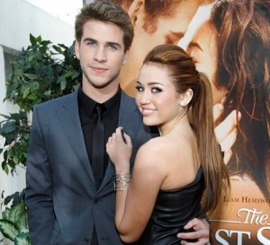 Miley Cyrus e Liam
