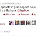 ligabue1 150x150 Luciano Ligabue e Barbara Pozzo: matrimonio segreto ieri a Correggio immgine