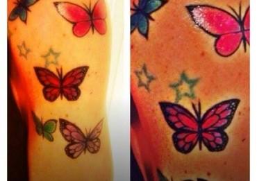 guendalina canessa farfalle