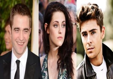 Robert-Pattinson-Kristen Stewart-Zac-Efron
