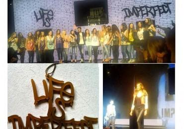 sfilata imperfect 370x261 Imperfect, video e foto della sfilata di Belen Rodriguez: Chiara Biasi e Claudia Galanti tra gli ospiti immgine