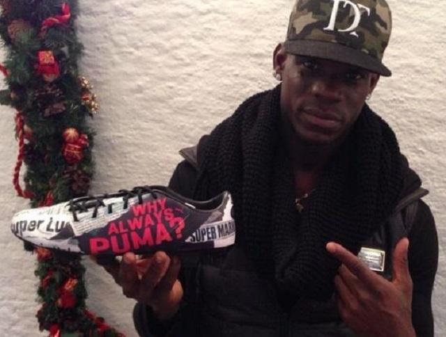 Mario Balotelli in affari con Puma: foto e prezzo delle