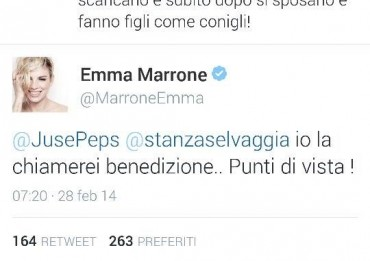 tweet emma marrone