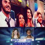 finalisti angela samba 150x150 I nominati sono: Franco, Amedeo, Vito, Armando e Caterina  immgine