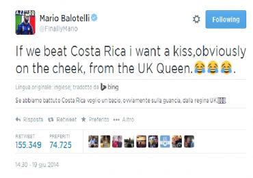 Mondilali-Brasile-Italia-Costa-Rica-Balotelli-prende-in-giro-la-regina-elisabetta