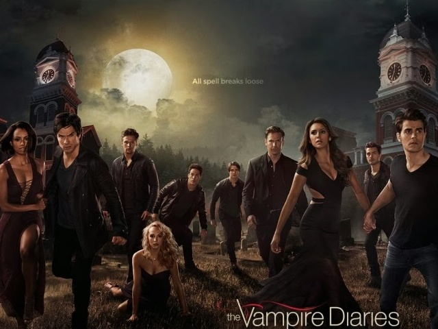 'Vampire Diaries' Season 6 Poster