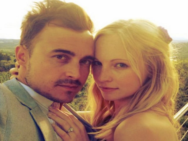 candice accola dating joe king Candice rene king (née accola) (born may 13,  candice began dating musician joe king of the fray after they met at a super bowl event in february 2011.