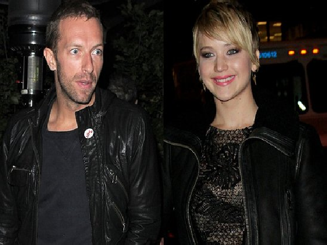 Jennifer lawrence really dating chris martin