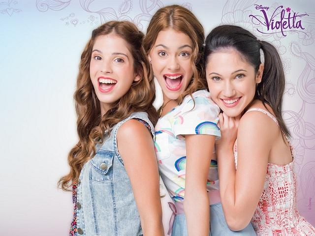 Martina Stoessel, Lodo Comello, Candelaria Molfese: Violetta e l'amore