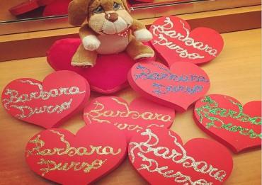 Barbara D'Urso San Valentino