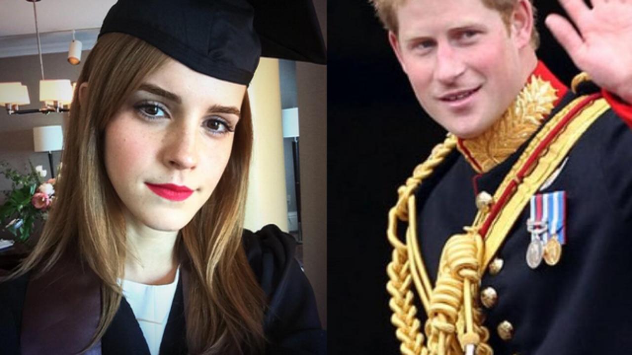 brand new 568ff e0ee9 Emma Watson e il principe Harry: la verità sul flirt