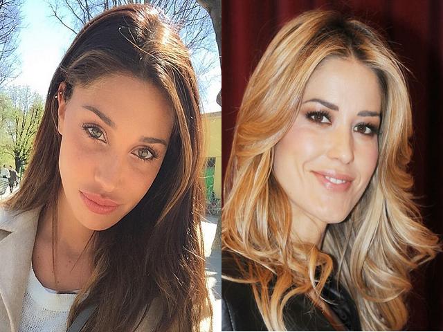 Elena Santarelli e Belen Rodriguez