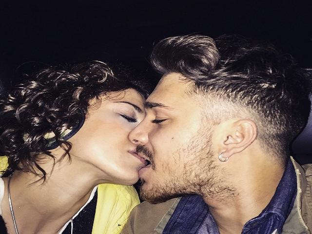 Bacio-Valentina-e-Andrea