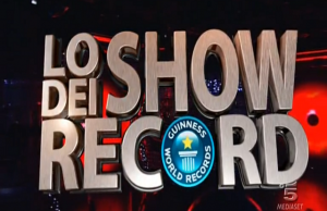 show dei record canale 5
