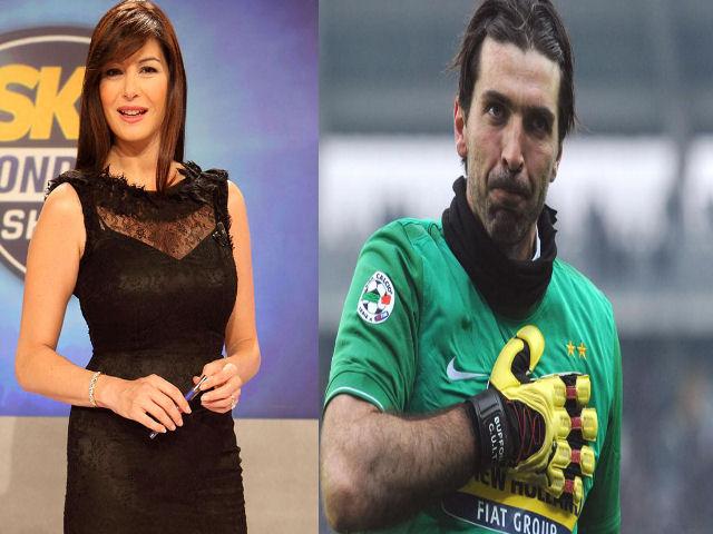 """Ilaria D'Amico su Buffon e gravidanza: """"Questo gioco non mi piace"""""""