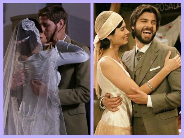 il-segreto-mariana-nicolas-maria-gonzalo-sposi-matrimonio
