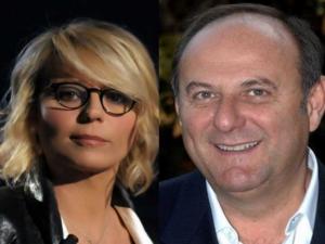 Gerry Scotti e Maria De Filippi