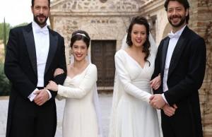 il-segreto-candela-lucas-matrimonio-sposi