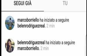 belen e borriello instagram