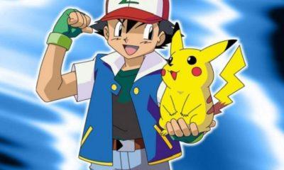 foto ash pokemon