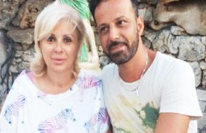 tina cipollari e marito