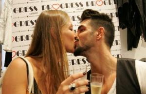 cristian e tara bacio
