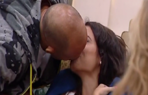 stefano battarini e ciociara bacio