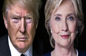 clinton e trump elezioni