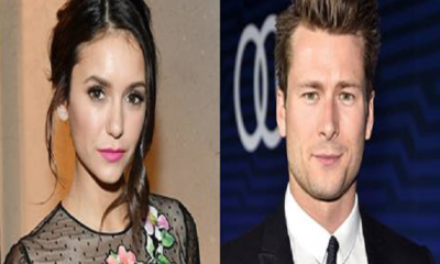 Nina Dobrev e Glen Powell