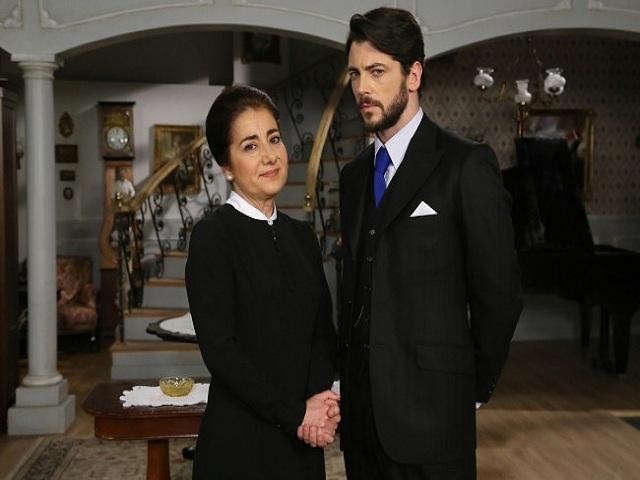 Rogelia e Hernando de Il Segreto